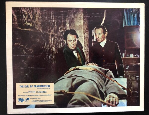 Eveil of frankenstein original front of